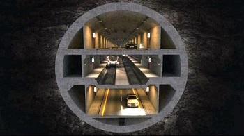 Concurso del Megaproyecto de Túnel con tres plantas de Estambul